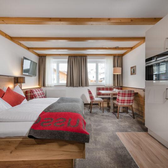 Wohn-Schlafbereich/ living lseeping room